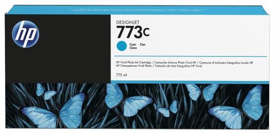 Картридж HP C1Q42A для DesignJet Z6800/Z6600 голубой картридж hp b6y32a 711с для hp designjet z6200 775мл хроматический красный 3шт