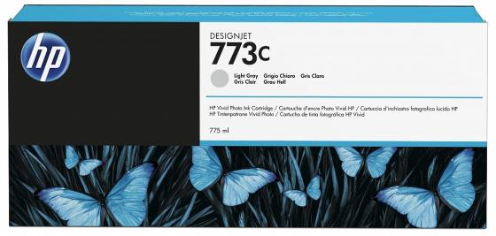 Картридж HP C1Q44A для DesignJet Z6600/Z6800 светло-серый 775мл free shipping q5669 60664 for hp designjet t610 t1100 z2100 z3100 z3200 vacuum fan aerosol fan assembly original used