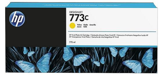 Картридж HP C1Q40A для DesignJet Z6600/Z6800 желтый 775мл цена 2017
