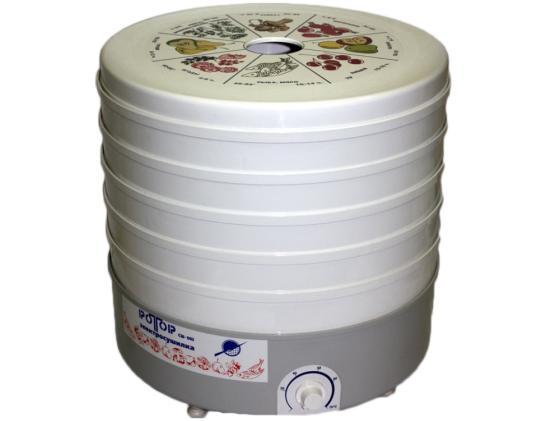 Сушилка для овощей  фруктов Ротор СШ-002 белый