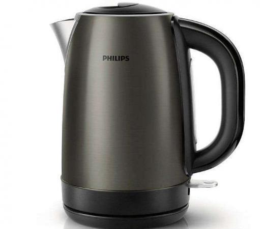 Чайник Philips HD 9323/80 2200Вт 1.7л сталь серебристый чайник philips hd 9323 40 2200вт 1 7л сталь сиренево черный
