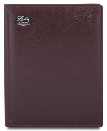 Еженедельник датированный Letts Global Deluxe Ibiza A4 натуральная кожа 412127443 ежедневник датированный letts global deluxe a5 натуральная кожа 412127210 822928
