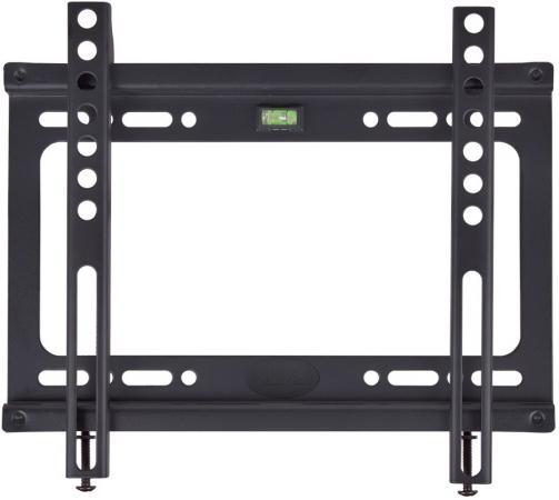 Кронштейн Kromax IDEAL-5 черный LED/LCD 15-47 20 мм от стены VESA 200x200 max 40 кг kromax ideal 6 led lcd 15 47 15 28 vesa 200x200 max 35