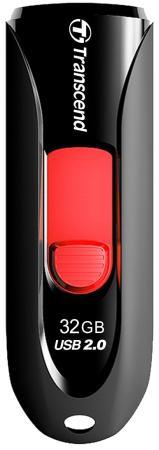 Флешка USB 32Gb Transcend JetFlash 590 TS32GJF590K черный флешка transcend jetflash v85 16gb
