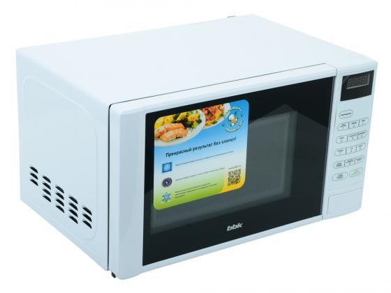 Микроволновая печь BBK 20MWS-728S/W 700 Вт белый