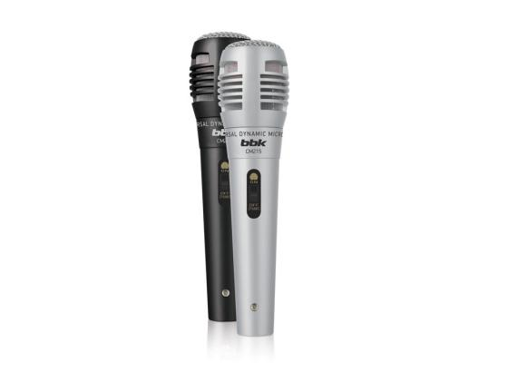 Микрофон BBK CM215 черный/серебристый стоимость