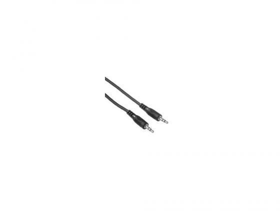 Фото - Кабель соединительный 5.0м Hama 3.5 Jack (M) - 3.5 Jack (M) стерео черный H-34053 кабель jack jack schulz кабель межблочный стерео jack стерео jack sto 3 m