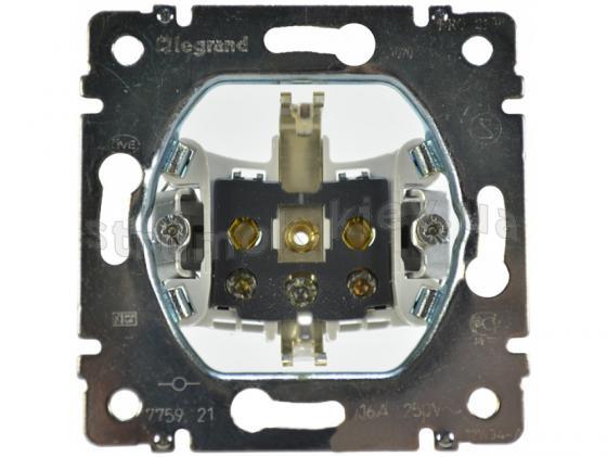 Розетка электрическая Legrand Galea Life 2К+3 автоматические клеммы 775921 розетка тв legrand galea life топология звезда 2400мгц 1 5дб 775965