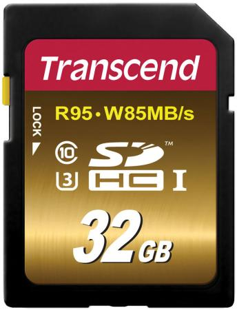 Карта памяти SDHC 32GB Class 10 Transcend UHS-I U3X Ultimate TS32GSDU3X карта памяти sdhc 32gb silicon power elite class 10 uhs i sp032gbsdhau1v10