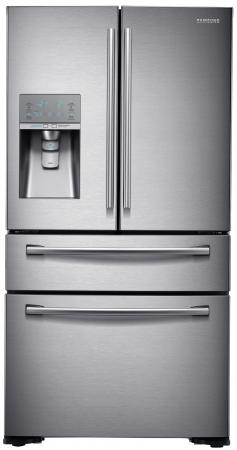 Холодильник Side by Side Samsung RF-24HSESBSR серебристый холодильник side by side samsung rs552nrua9m