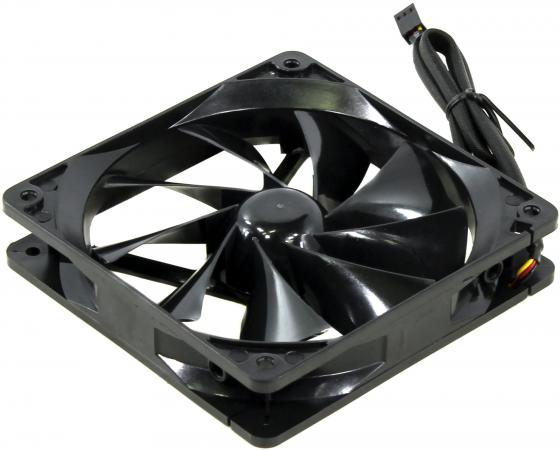 Вентилятор Thermaltake Pure Fan 120x120x25 3pin 19.5dB CL-F011-PL12BL-A цена