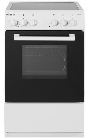 Электрическая плита Vestel VC V55W белый цена 2017