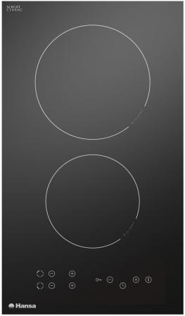 Варочная панель электрическая Hansa BHC33077 черный варочная панель электрическая hansa bhiw67303 черный