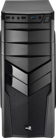 Корпус ATX Aerocool V2X Black Edition Без БП чёрный 4713105952643 цены