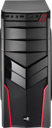 цена на Корпус ATX Aerocool V2X Red Edition Без БП чёрный красный 4713105952650