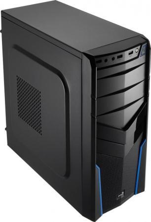 все цены на  Корпус ATX Aerocool V2X Blue Edition 600 Вт чёрный синий  онлайн