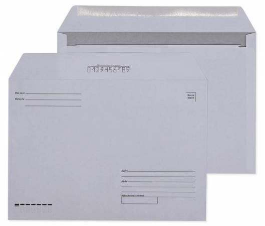 Конверт C4 Gembird2 Куда-Кому 500 шт 80 г/кв.м белый
