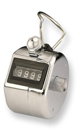 Шагомер KW-trio 2410 механический c кольцом хромированный 2450 kw trio 3903