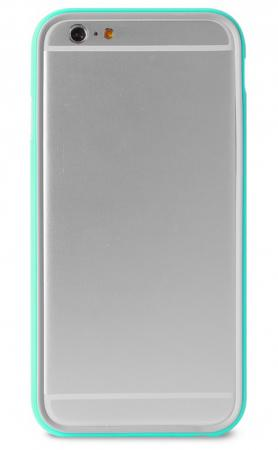 Бампер PURO BUMPER для iPhone 6S Plus iPhone 6 Plus бирюзовый IPC655BUMPERACQUA 2016 newest smsl m8 digital decoder mini amplifier dac es9018 hifi audio optic coaxial xmos usb asynchronous 384khz 24bit dsd