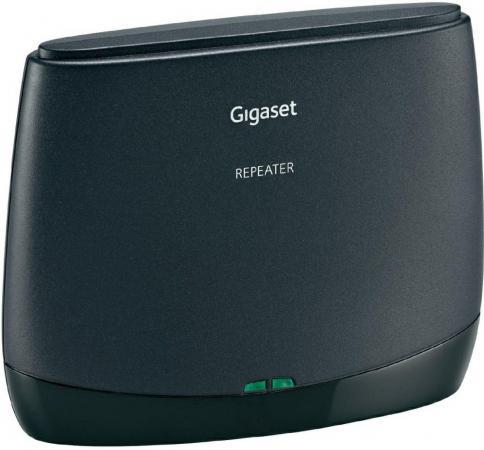 Репитер DECT Gigaset REPEATER 2.0 черный gigaset l410 черный