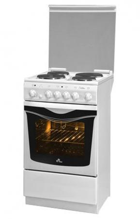 Электрическая плита De Luxe 5004.10э кр белый