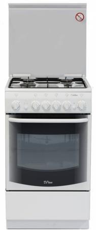 Газовая плита De Luxe 5040.33г кр белый