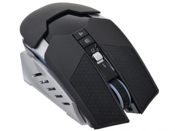 Мышь беспроводная A4TECH Bloody Warrior RT5 чёрный USB мышь a4tech bloody rt5 warrior usb black grey