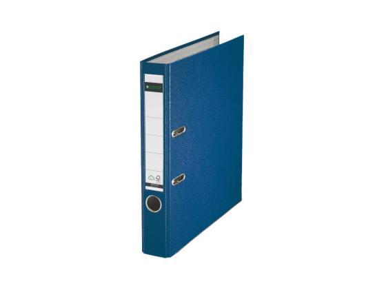 Папка-регистратор Leitz А4 50мм пластик синий 10151235P leitz 52810095