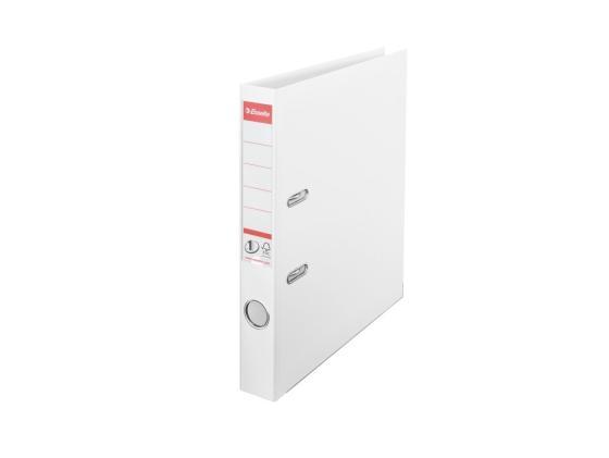 цена Папка-регистратор Esselte Power А4 50мм пластик белый 811400P онлайн в 2017 году
