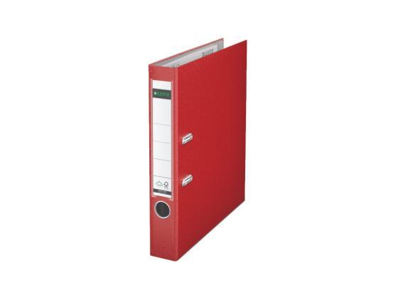 Папка-регистратор Leitz А4 50мм пластик красный 10151225P leitz complete 62570001