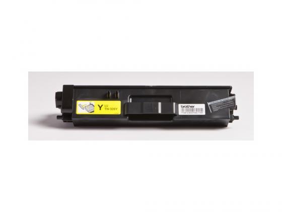 Картридж Brother TN326Y для HL-L8250CDN MFC-L8650CDW желтый 3500стр картридж brother tn 3030 для hl 51хх series mfc 8440 8840 3500стр