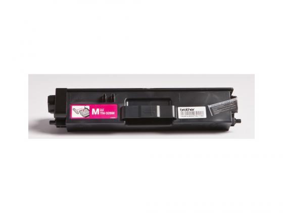 Картридж Brother TN326M для HL-L8250CDN MFC-L8650CDW пурпурный 3500стр тонер картридж brother tn321m пурпурный для brother hl l8250cdn mfc l8650cdw 1500стр