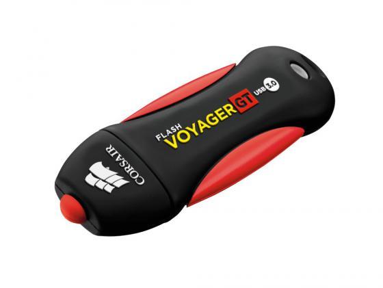 Флешка USB 32Gb Corsair Voyager GT CMFVYGT3B-32GB черный красный usb накопитель corsair flash voyager vega 32gb cmfvv3 32gb