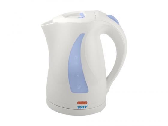 Чайник Unit UEK-243 2000 Вт 1.7 л пластик белый чайник василиса т32 2000