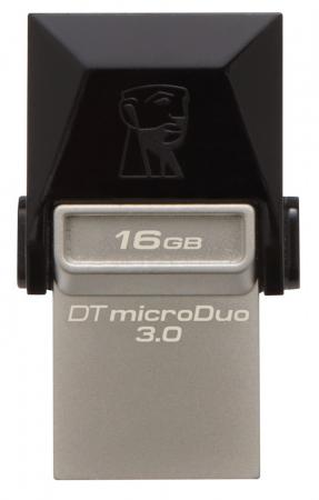 Флешка USB 16Gb Kingston DataTraveler MicroDuo DTDUO3 DTDUO3/16GB цены онлайн