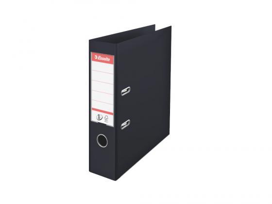 Папка-регистратор Esselte Power А4 75мм пластик черный 811370P папка регистратор esselte economy 10782p a4 75мм желтый