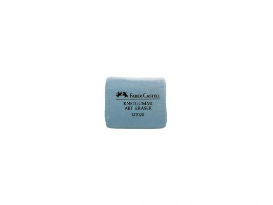 Ластик Faber-Castell серый 127220 faber castell ручка капиллярная ecco pigment 0 7 мм цвет чернил черный
