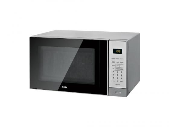 Микроволновая печь BBK 20MWS-729S/BS 20л 700Вт черно-серебристый микроволновая печь bbk 20mws 729s bs