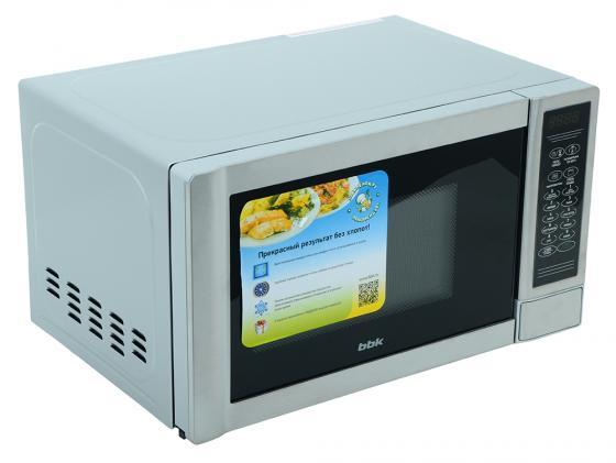 Купить со скидкой Микроволновая печь BBK 20MWG-734S/BX 700 Вт серебристый