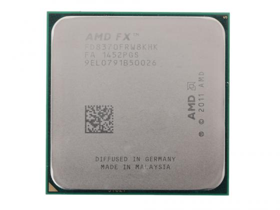 Процессор AMD X8 FX-8370 4GHz 8Mb FD8370FRW8KHK Socket AM3+ OEM процессор amd a8 7500 3 0ghz 2mb ad7500ybi44ja socket fm2 oem