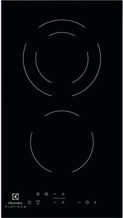 Варочная панель электрическая Electrolux EHF93320NK черный цена и фото