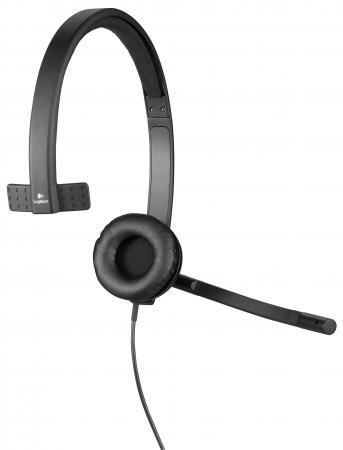 Гарнитура Logitech Headset H570E Mono USB 981-000571 беспроводная гарнитура logitech wireless headset h820e mono 981 000512