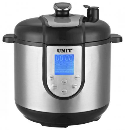 цена на Мультиварка Unit USP-1210S 1100Вт 6л с функцией скороварки и коптильни