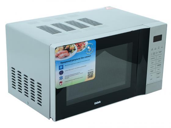 Микроволновая печь BBK 20MWG-736S/BS — серебристый микроволновая печь supra mwg 2232tb