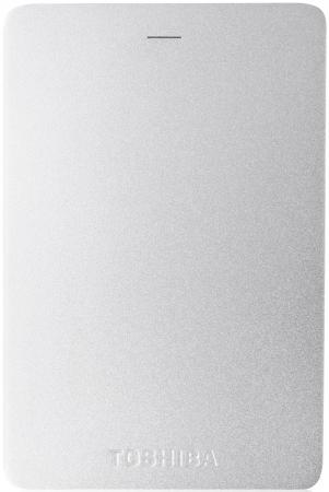 Внешний жесткий диск 2.5 USB3.0 2Tb Toshiba Canvio Alu HDTH320ES3CA серебристый