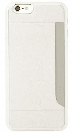 Чехол (клип-кейс) Ozaki O!coat 0.3 + Pocket для iPhone 6 белый OC559WH стоимость