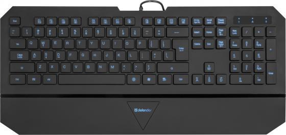 Клавиатура проводная DEFENDER Oscar SM-660L PRO USB черный 45662 стоимость