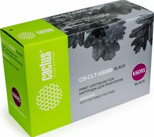 цена на Картридж Cactus CS-CLT-K609S для Samsung CLP 770/770ND/775/775ND черный 7000стр