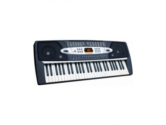 Купить со скидкой Синтезатор Tesler KB-5430 54 клавиши USB черный