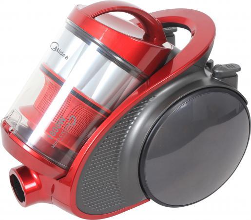 Пылесос Midea VCM38M1 с мешком сухая уборка 1800Вт красный пылесос midea vcc43a1 1800вт красный